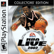NBA Live 2002 Collector's Edition Video Game For Sony PS1