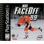 NHL Faceoff 99 Video Game For Sony PS1