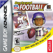 Backyard Football 2006 Video Game For Nintendo GBA