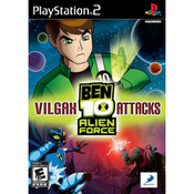 Ben 10 Alien Force Vilgax Attacks Video Game For Sony PS1