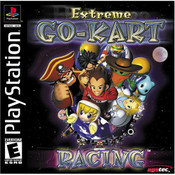 Extreme Go-Kart Racing Video Game For Sony PS1