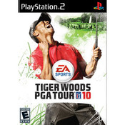 Tiger Woods PGA Tour 10 Video Game For Sony PS2
