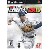 Major League Baseball 2K10 Video Game For Sony PS2