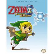 Legend of Zelda Phantom Hourglass Premier Edition Prima Official Game Guide For Nintendo DS