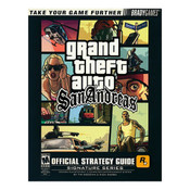 Grand Theft Auto San Andreas BradyGames Signature Series Guide For Sony PS2