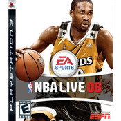 NBA Live 08 Video Game For Sony PS3