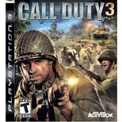 Call of Duty 3 Video Game For Sony PS3