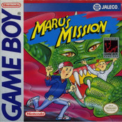 Maru's Mission Video Game For Nintendo GameBoy