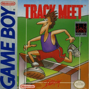 Track Meet Video Game For Nintendo GameBoy