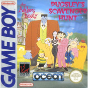 The Addams Family Pugsley's Scavenger Hunt Video Game For Nintendo GameBoy