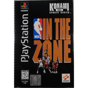 NBA In The Zone Long Box For Sony PS1