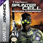 Splinter Cell Pandora Tomorrow Video Game For Nintendo GBA