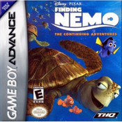Finding Nemo: The Continuing Adventures Video Game For Nintendo GBA
