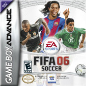 Fifa Soccer 06 Video Game For Nintendo GBA