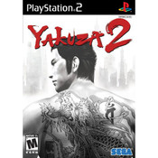 Yakuza 2 Video Game For Sony PS2