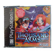Thousand Arms Video Game For Sony PS1