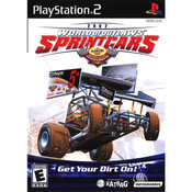 World of Outlaws Sprint Cars 2002 Video Game For Sony PS2