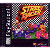 Street Racer Video Game For Sony PS1