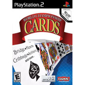 World Championship Cards Video Game For Sony PS2