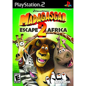 Madagascar Escape 2 Africa Video Game For Sony PS2