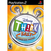 Disney Think Fast Video Game For Sony PS2