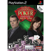 World Championship Poker All In Video Game For Sony PS2