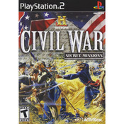 Civil War Secret Missions Video Game For Sony PS2