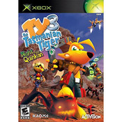 Ty The Tasmanian Tiger 3 Night of the Quinkan Video Game For Microsoft Xbox