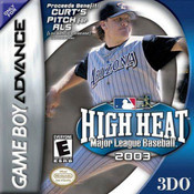 High Heat Major League Baseball 2003 Complete Game For Nintendo GBA