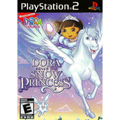 Dora Saves The Snow Princess Video Game For Sony PS2