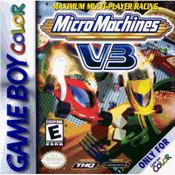 Micro Machines V3 Video Game For Nintendo GBC