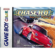 Chase HQ Secret Police Video Game For Nintendo GBC
