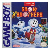 Snow Brothers Video Game For Nintendo GameBoy