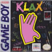 Klax Video Game For Nintendo GameBoy