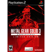 Metal Gear Solid Subsistence Limited Edition - PS2 Game