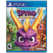 Spyro Reignited Trilogy Video Game For Sony PS4
