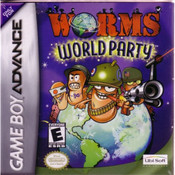 Worm World Party Video Game For Nintendo GBA