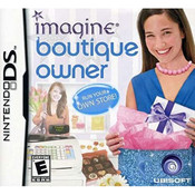 Imagine Boutique Owner Video Game For Nintendo DS