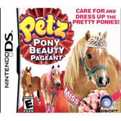 Petz Pony Beauty Pageant Video Game For Nintendo DS