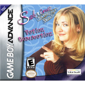Sabrina the Teenage Witch Potion Commotion Video Game For GBA
