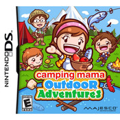 Camping Mama Outdoor Adventures Video Game For Nintendo DS