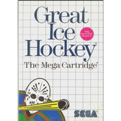 Great Ice Hockey Video Game For Sega Master System