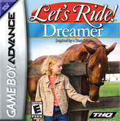Let's Ride Dreamer Video Game For Nintendo GBA