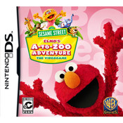 Sesame Street Elmo's A to Zoo Adventure Video Game For Nintendo DS