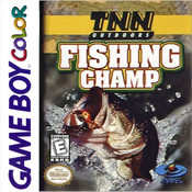 TNN Outdoors Fishing Champ Video Game For Nintendo GBC