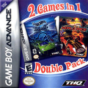 Hot Wheels Velocity X and Hot Wheels World Race Video Game For Nintendo GBA