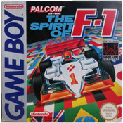 Spirit of F-1 Video Game For Nintendo GameBoy