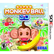 Super Monkey Ball 3D Video Game For Nintendo 3DS