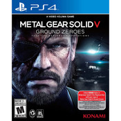 Metal Gear Solid V Ground Zeroes Video Game For Sony PS4