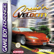 Cruis'n Velocity Video Game For Nintendo GBA